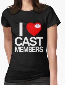 I Heart Cast Members (Orlando) Womens Fitted T-Shirt