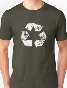 Recycle (Distressed - White) T-Shirt