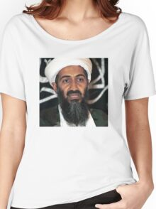 osama bun laden edgy shirt Women's Relaxed Fit T-Shirt
