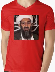 osama bun laden edgy shirt Mens V-Neck T-Shirt
