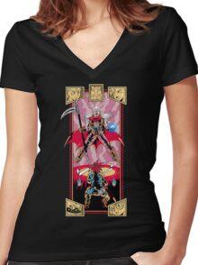 Epic Chrono Women's Fitted V-Neck T-Shirt