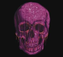 purple skull by Rustek