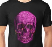 purple skull Unisex T-Shirt
