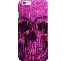 purple skull iPhone Case/Skin