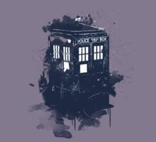 splatter tardis by Rustek