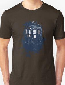 splatter tardis T-Shirt