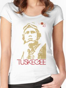 Tuskegee Women's Fitted Scoop T-Shirt