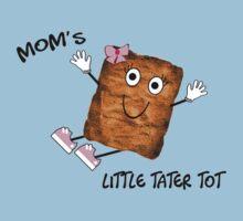 Mom's Little Tater Tot Girl Kids Tee