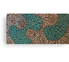 Flow and Pop Pattern Canvas Print