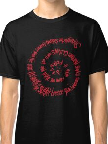 Shadow of Death (Spiral of the Grim Reaper) Classic T-Shirt