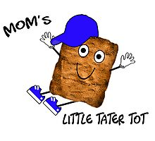 Mom's Little Tater Tot Boy Photographic Print