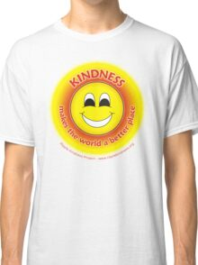 Kindness Makes The World a Better Place - Yellow T-shirt Classic T-Shirt
