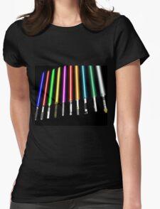 Lightsaber Womens Fitted T-Shirt