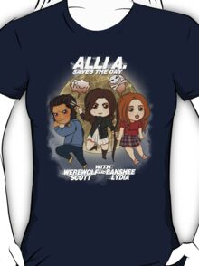 Alli A. Saves the day T-Shirt