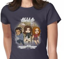 Alli A. Saves the day Womens Fitted T-Shirt