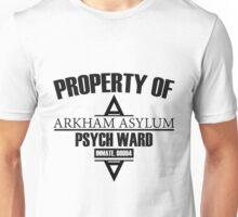 Arkham Asylum // Psych Ward Inmate Design Unisex T-Shirt