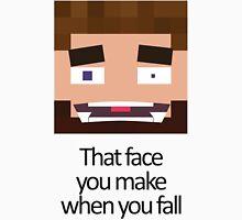 When you fall - Minecraft Meme T-Shirt