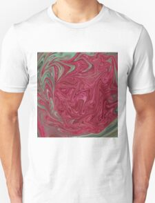 Red Seedhead Abstract Unisex T-Shirt