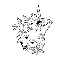 Nidorino de los Muertos | Pokemon & Day of The Dead Mashup by abowersock