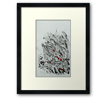 Untitled Abstract Study 3 Framed Print