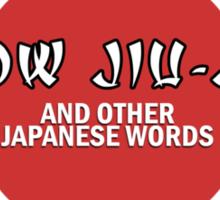 Jiu-Jitsu Tee Sticker