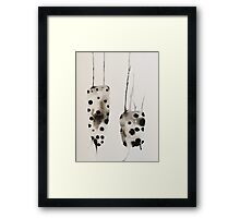 Untitled Abstract Study 5 Framed Print
