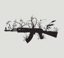 War is Over - Ak47 by romeotees