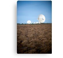 Goonhilly Earth Satellite Station Canvas Print