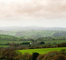 Cornwall country landscape by photoeverywhere