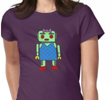 Ms. Robot Womens Fitted T-Shirt