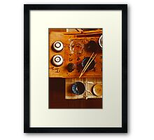 Chinese tea-party Framed Print