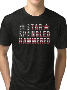 Star Spangled Hammered Tri-blend T-Shirt