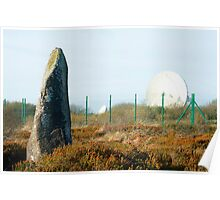 Goonhilly Satellite Earth Station, Cornwall Poster