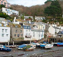 Polperro village, Cornwall by photoeverywhere