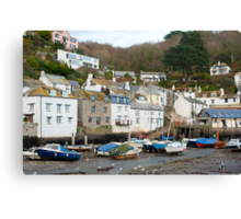 Polperro village, Cornwall Canvas Print