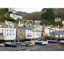 Polperro village, Cornwall Photographic Print