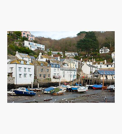 Polperro village, Cornwall Photographic Print
