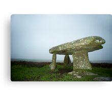 Lanyon quoit dolmen Canvas Print