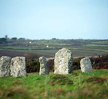 Merry Maidens stone circle by photoeverywhere