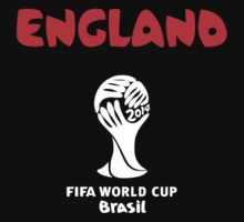 England World Cup 2014 by refreshdesign