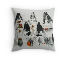Untitled Abstract Study 14 Throw Pillow