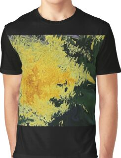 Dandelion Abstract Graphic T-Shirt