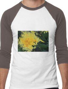 Dandelion Abstract Men's Baseball ¾ T-Shirt