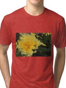Dandelion Abstract Tri-blend T-Shirt