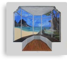Bay Window Canvas Print