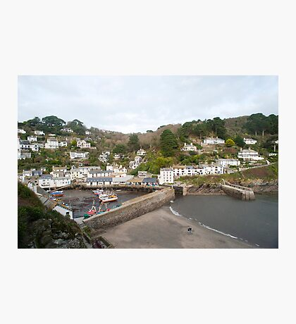 Polperro fishing village, Cornwall Photographic Print