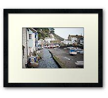 Polperro fishing village, Cornwall Framed Print