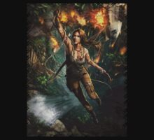 Lara Croft Tomb Raider hanging artwork by shahidk4u