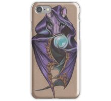 Wizard Bat (with Crystal Ball) iPhone Case/Skin