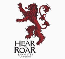 Game of thrones lannister hear me roar by shahidk4u